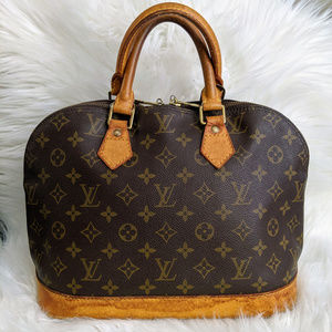 Authentic Louis Vuitton Monogram Alma PM Bag